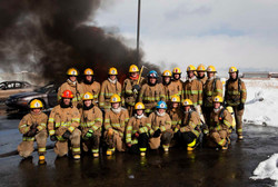 Fire Academy West Valley Utah class