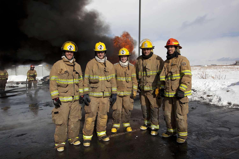 Fire Academy West Valley Utah class