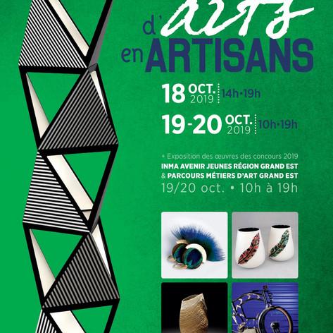 2019 - D'Arts en Artisans