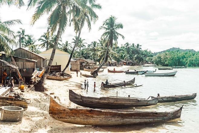Madagascar boats