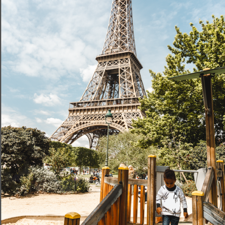 TOP 5 PLAYGROUNDS IN PARIS