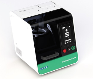 DLyte Desktop Dental, the First Ultra-Compact Dry Electropolishing Machine for Small Dental Labs