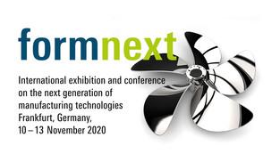MEET US DIGITALLY AT FORMNEXT CONNECT 2020