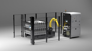 GPAINNOVA Presents DLyte PRO500 Automated Cell: Workpiece Handling in Surface Finishing Automation
