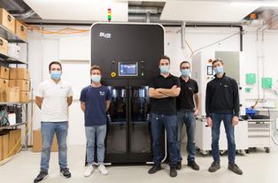 GPAINNOVA installs the DLytePRO500, the most powerful dry electropolishing machine, at SwissSurface