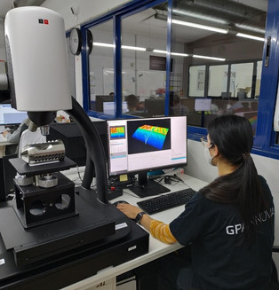 GPAINNOVA Acquires its First Confocal Microscope for Precise Surface Measuring