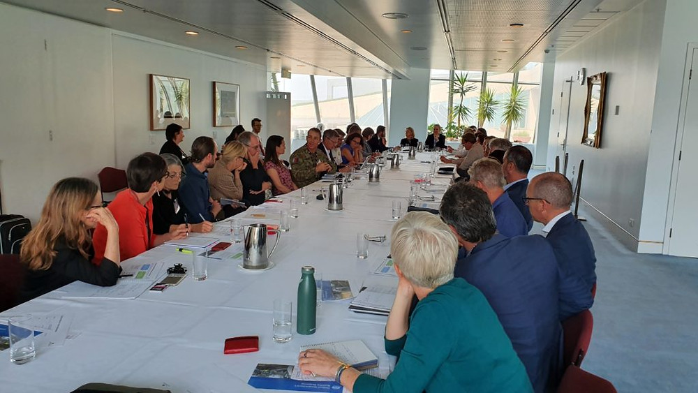 AWC is part of a bushfire recovery advisory round-table at Parliament House.  © Tim Allard/AWC