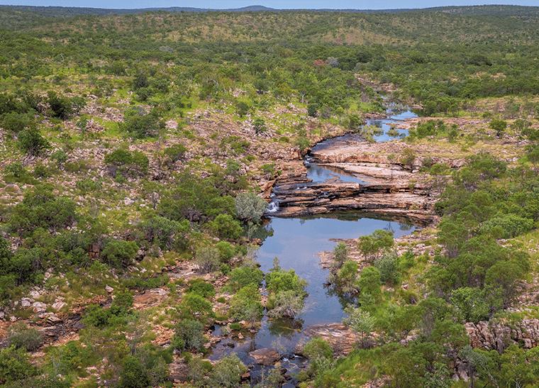 © Brad Leue/AWC - Bullo River runs through the heart of the property.