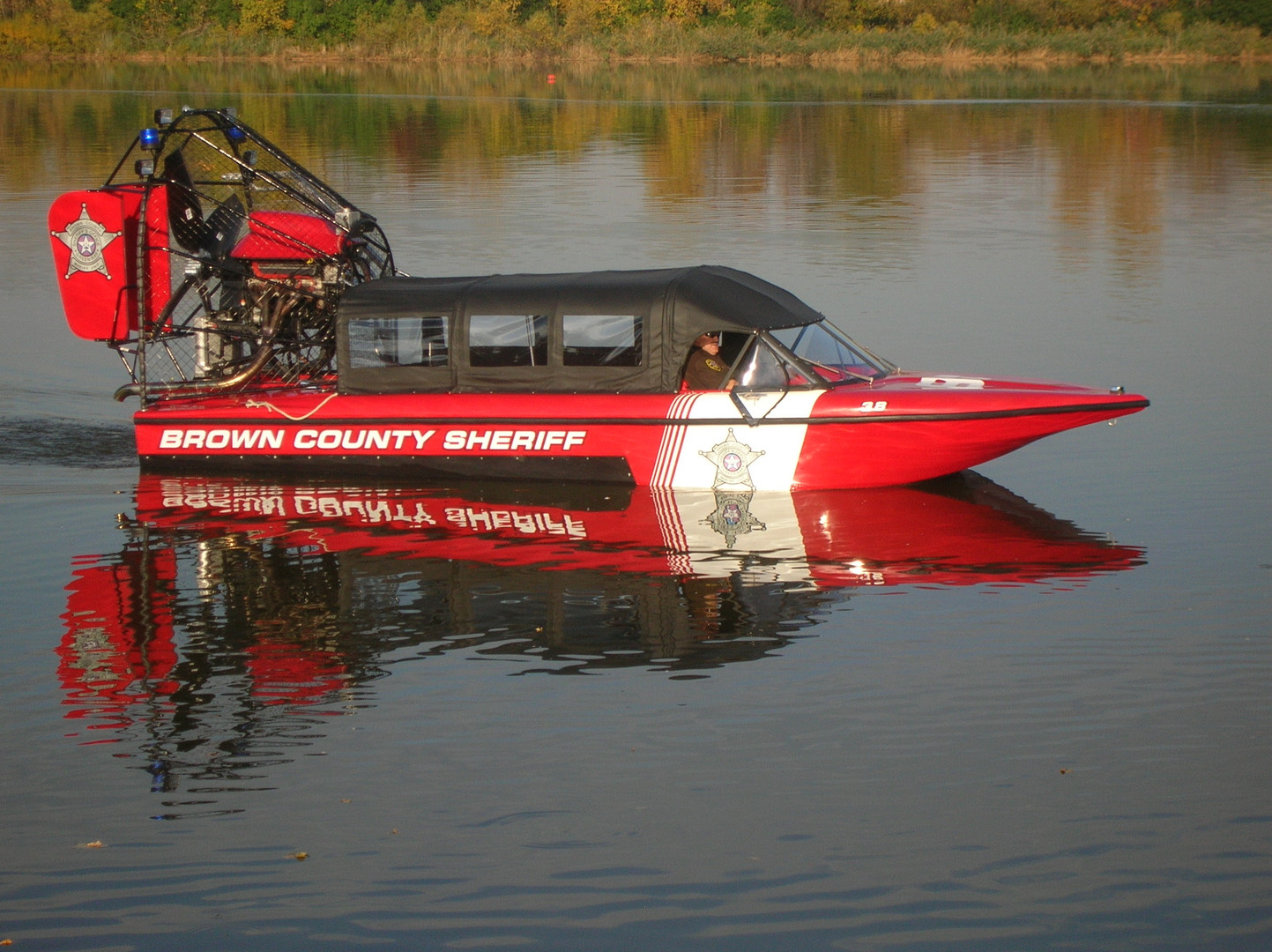 Brown County Sheriff Airboat