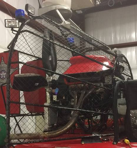 Airboat Propeller Cage