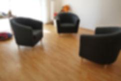 Bild von den Praxisräumen