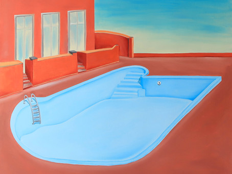 The Start of Summer: Swimming Pools & Backyards | Saatchi Art