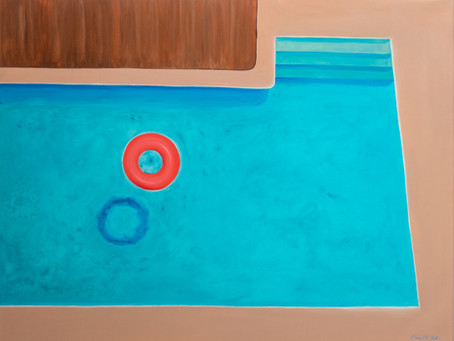 New artwork ''The Red Ring'' in the Pool collection