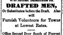 The Problems of the Civil War Draft-Draftee Substitution