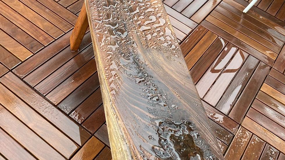 Hardwood Outdoor Bench
