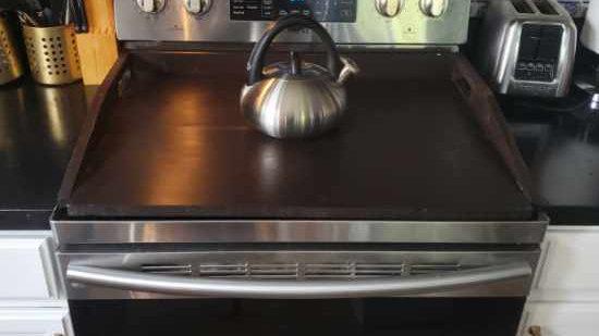 Stove Cover - Noodle Board