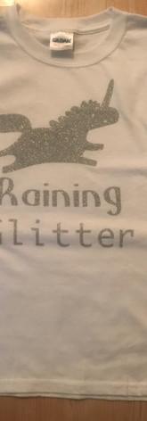 vinyl glitter t shirt