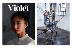Vanina Sorrenti + Violet Book