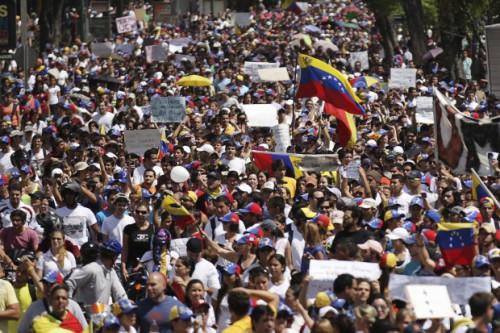 Цветная революция в Венесуэле