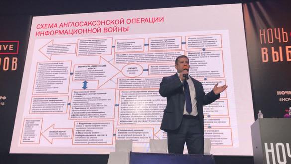 Схема операции информационных вбросов