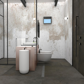 Bathroom - Contemporary House