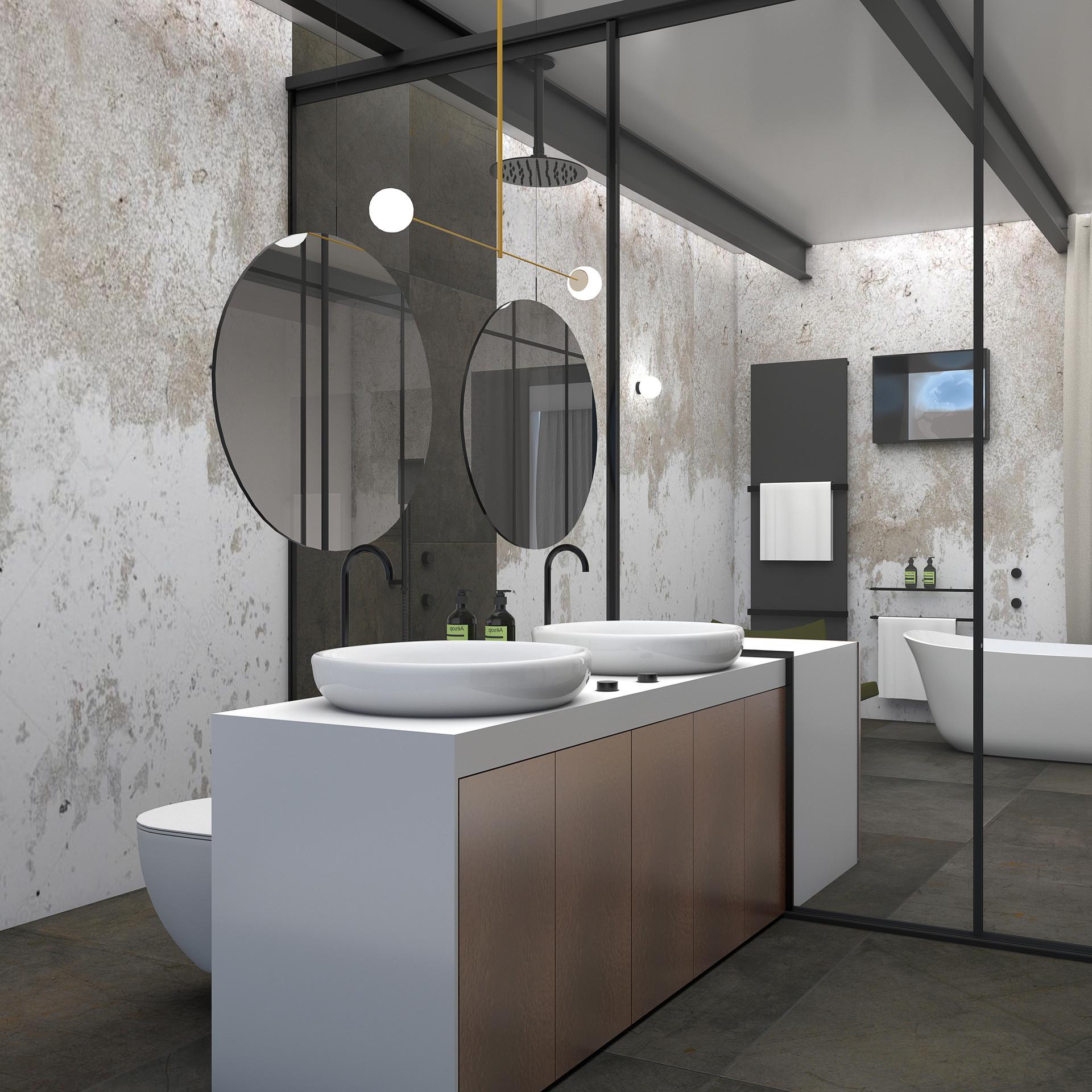 Bathroom - Contemporary House