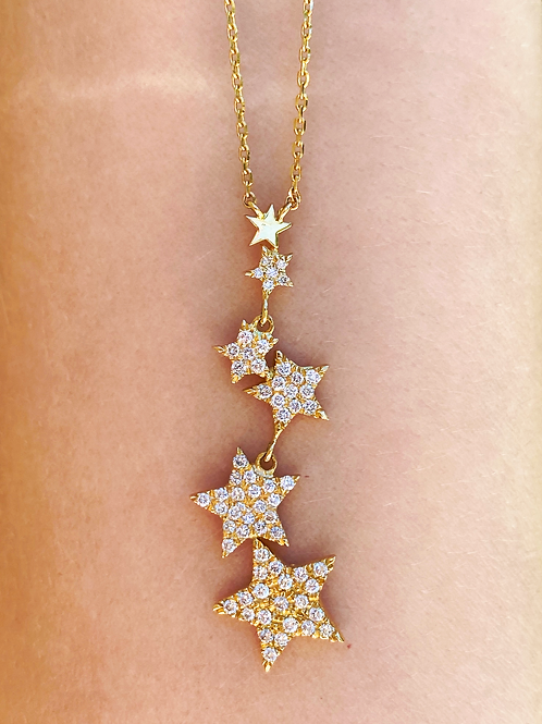 Stars Cluster Necklace