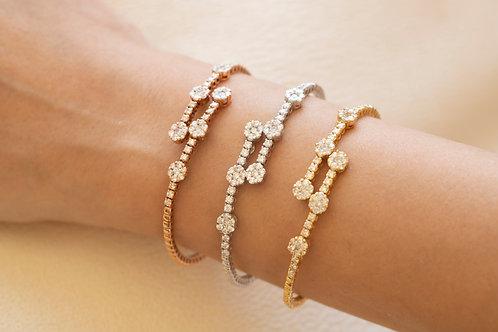 Yellow Spring Bracelet