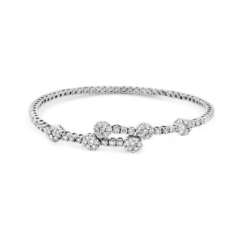 White Spring Bracelet