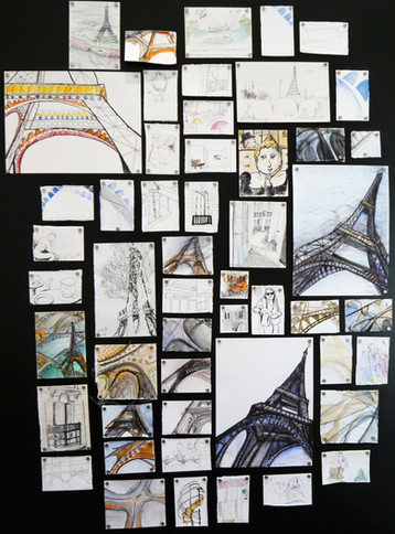 Paris Drawings 2018 - 2019