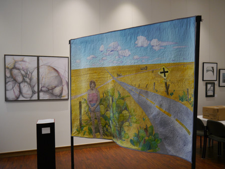 Sanborn Rd: family history quilt