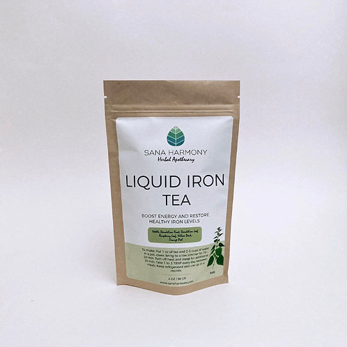 Liquid Iron Tea