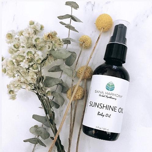 Sunshine Oil - Baby Massage Oil