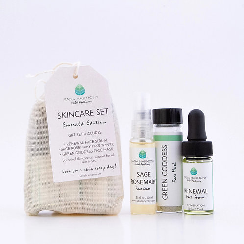 Skincare Set - Emerald Collection