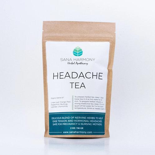 Té para el dolor de cabeza