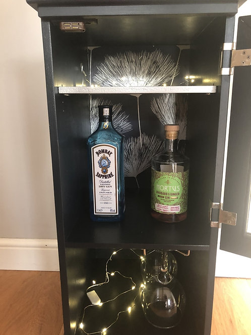 Small Gin Cabinet in Fusion Midnight Blue