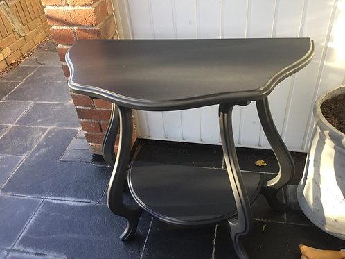 Vintage D shape table