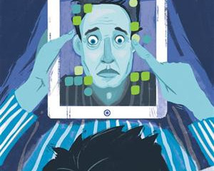 Tech lag:usar pantallas antes de dormir es como un viaje largo