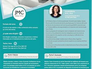 Programa de capacitación en Tratamiento cognitivo conductual del insomnio (TCC)