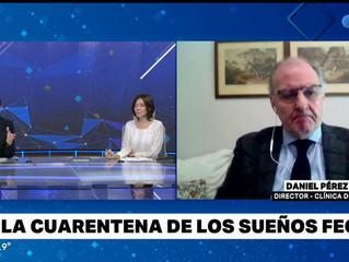 Dr Daniel Perez Chada en Telefé Noticias