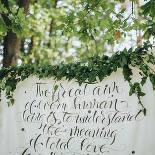 Calligraphy & invitation design