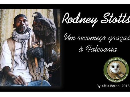 Rodney Stotts: Um recomeço graças à falcoaria