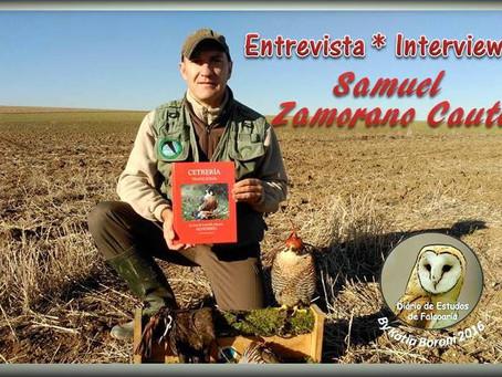 Entrevista Samuel Zamorano Cauto
