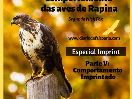 Comportamento Imprintado das aves de rapina
