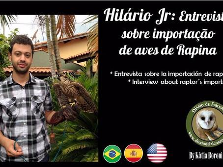Entrevista Hilário: Importação de aves de rapina