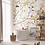 Wallpaper magnolia, wallpaper bathroom The O, wallpaper for the bathroom
