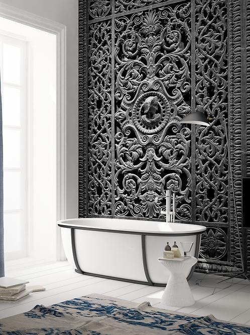 Обои Чугунные ворота, wallpaper bathroom The O, обои для ванной