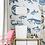 Рыбы синие, wallpaper bathroom The O, обои для ванной