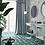 Обои Малахит серый, wallpaper bathroom The O, обои для ванной