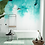 Wallpaper watercolor gradient, wallpaper bathroom The O, wallpaper for the bathroom